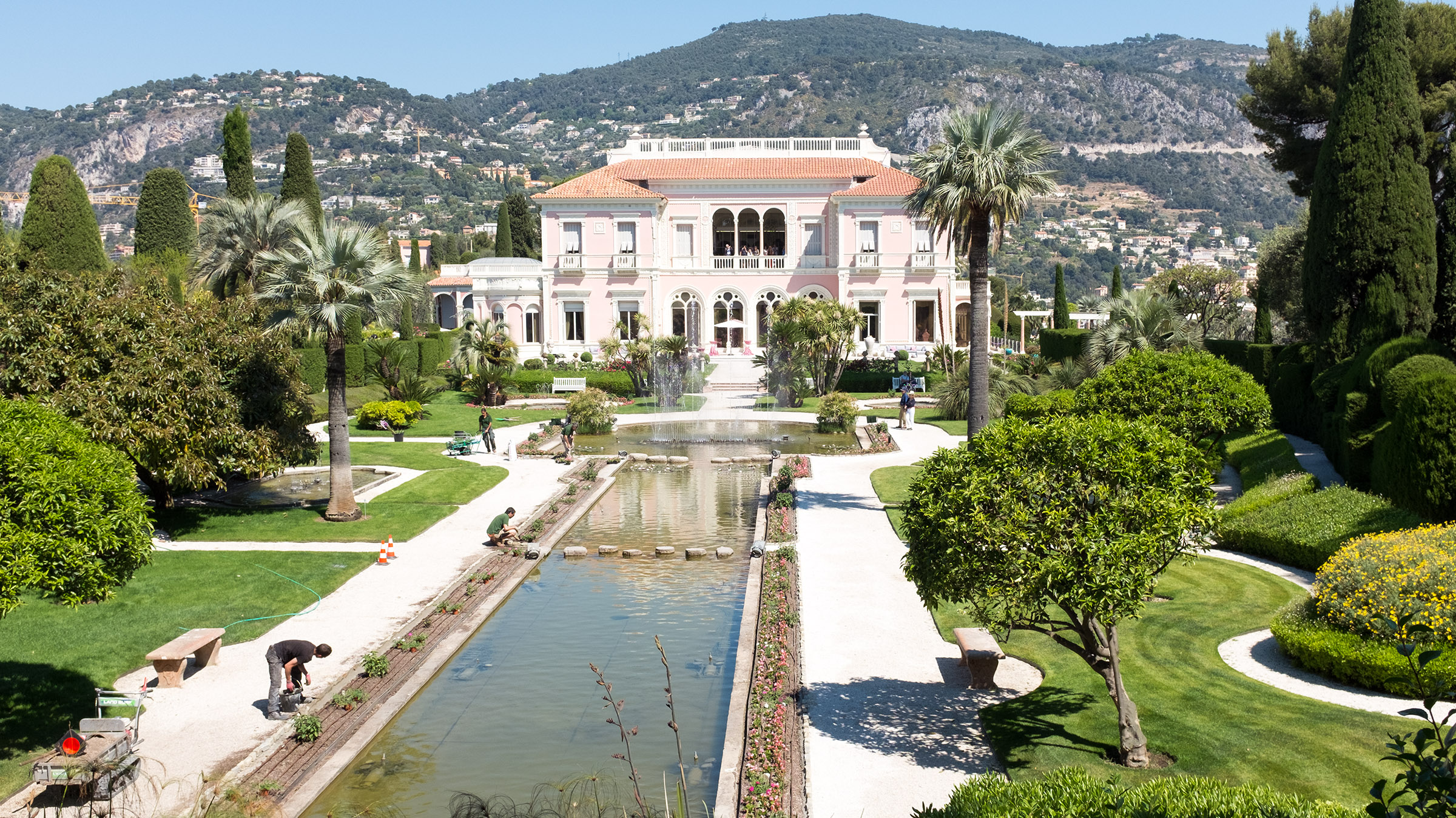 The Kiechle Family The Area Villa Ephrussi De Rothschild