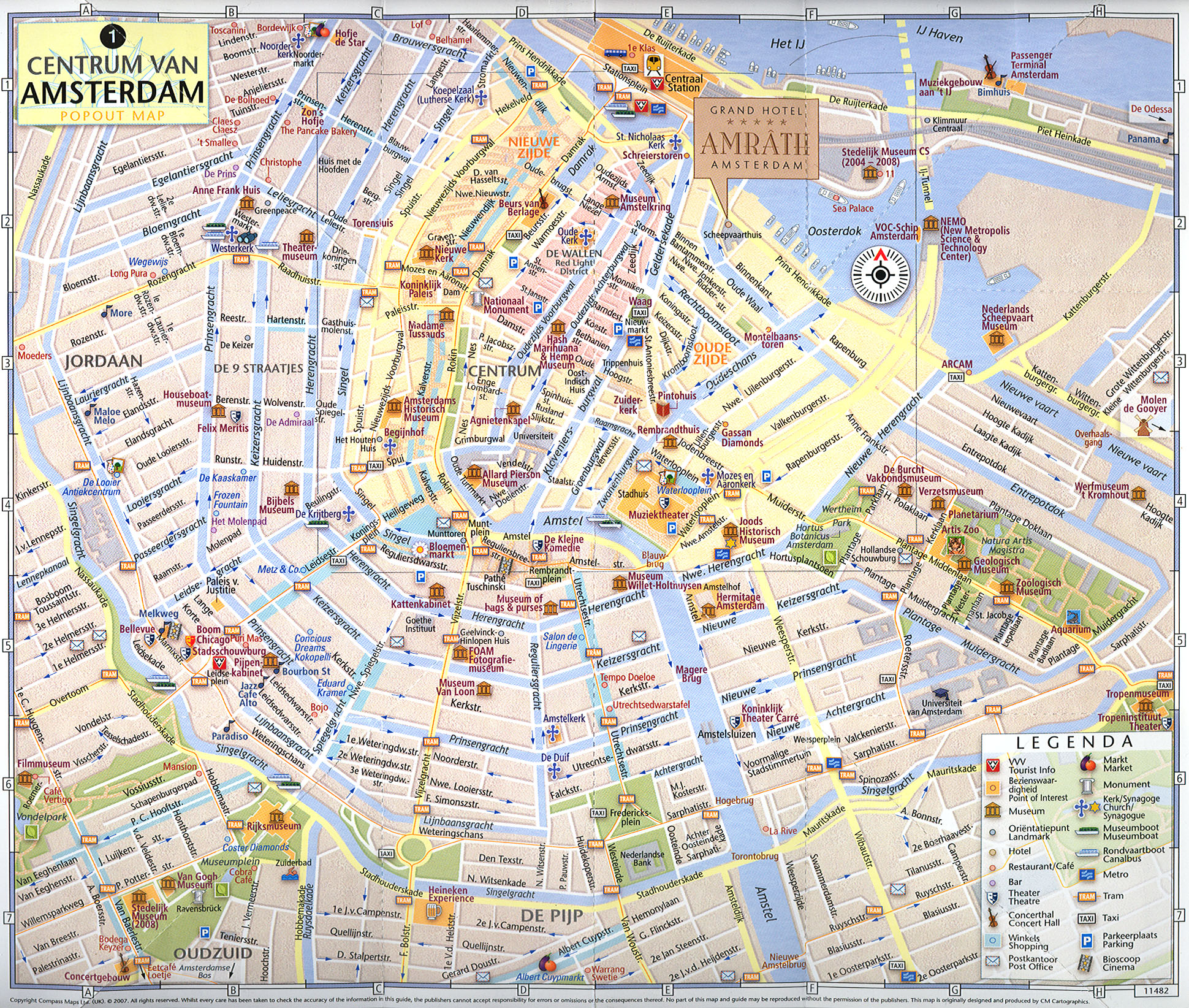 MAP OF AMSTERDAM | New Hd Template İmages