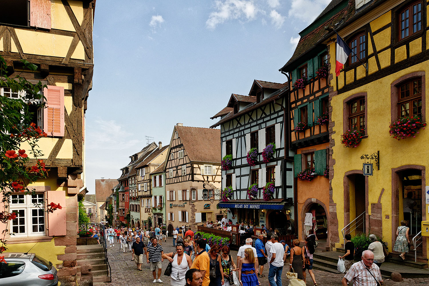 The Kiechle Family Trips Riquewihr